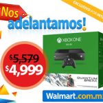 El Buen Fin 2016 Walmart Xbox One Quantum $4,999 y Laptop $5,999