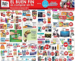 folleto Buen Fin 2016 en Farmacias Guadalajara