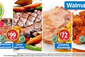 Fin de Semana de Frescura Walmart del 25 al 27 de Noviembre