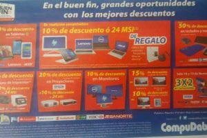 Folleto de ofertas del Buen Fin 2016 en Compudabo