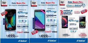 Folleto de Promociones del Buen Fin 2016 en Telcel