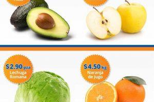 Frutas y verduras Chedraui 29 y 30 de Noviembre