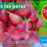 Martes de frescura frutas y verduras Walmart 22 de noviembre