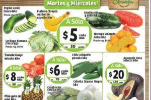 Frutas y Verduras Soriana 22 y 23 de Noviembre