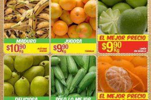 Frutas y Verduras Bodega Aurrerá al 1 de Diciembre
