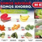 Ofertas de Frutas y Verduras HEB del 15 al 17 de Noviembre