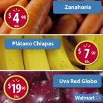 Frutas y Verduras Martes de Frescura Walmart Noviembre 15