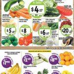 Ofertas de Frutas y Verduras Soriana 15 y 16 de Noviembre