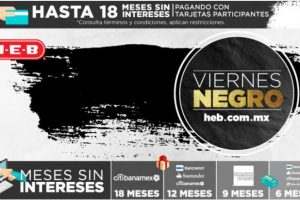 HEB Ofertas de Black Friday y Cyber Monday 2016