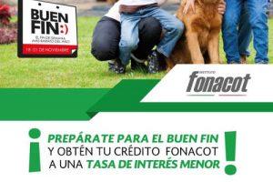 Ofertas de El Buen Fin 2016 en Fonacot