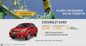 Ofertas del Buen Fin 2016 en Chevrolet