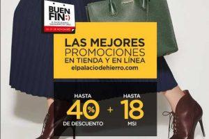 Ofertas del Buen Fin 2016 en El Palacio de Hierro