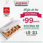 Ofertas del Buen Fin 2016 en Krispy Kreme