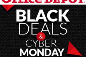 Office Depot Ofertas de Black Deals y Cyber Monday 2016