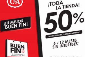 Promociones C&A El Buen Fin 2016