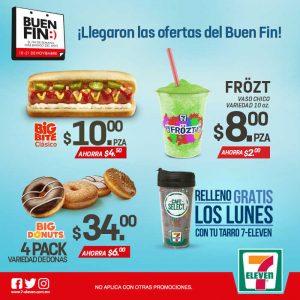 Promociones del Buen Fin 2016 en 7 Eleven