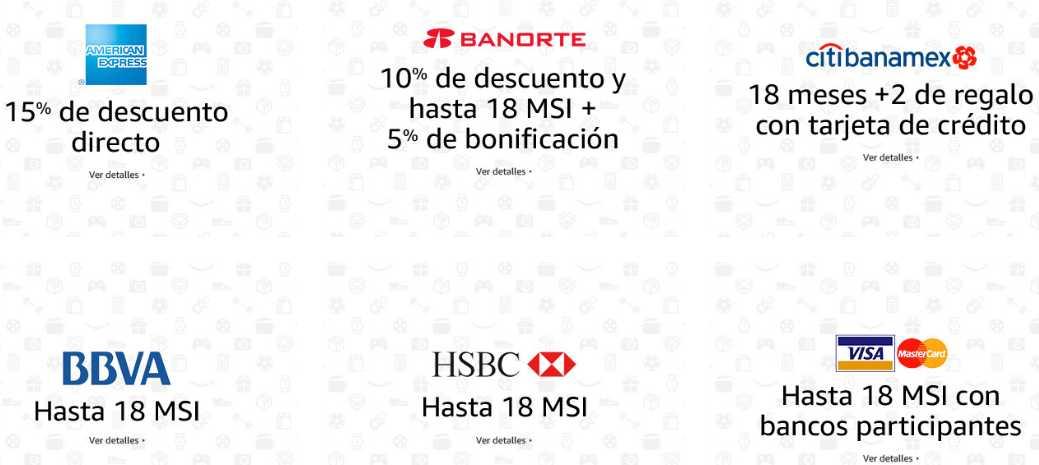 Promociones del Buen Fin 2016 en Amazon México