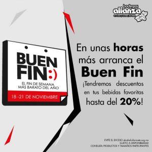 Promociones del Buen Fin 2016 en Bodegas Alianza