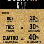 Promociones del Buen Fin 2016 en Gap