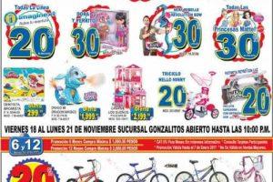 Promociones del Buen Fin 2016 en Jugueterías Julio Cepeda