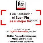 Promociones del Buen Fin 2016 en Santander