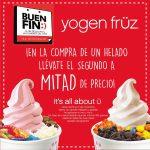 Promociones del Buen Fin 2016 en Yogen Früz