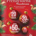 Sanborns Venta Prenavideña del 25 al 28 de Noviembre 2016