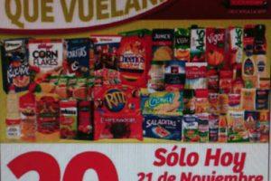 Soriana Mercado Buen Fin 2016 20% de descuento en abarrotes, pañales y mas.