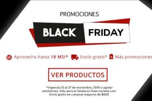 Soriana Ofertas de Black Friday 2016