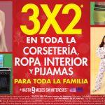 Suburbia 3×2 en corsetería, ropa interior y pijamas del 25 al 30 de Noviembre