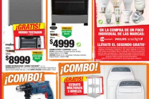 Folleto de ofertas del Buen Fin 2016 en The Home Depot