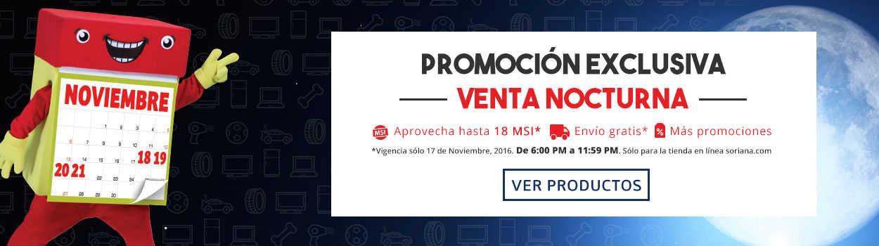 Venta Nocturna del Buen Fin 2016 en Soriana Online