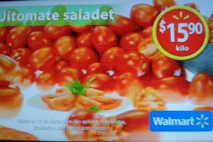 Walmart martes de frescura frutas y verduras 13 de diciembre