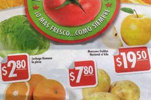 Comercial Mexicana hoy es miércoles de frutas y verduras 21 de diciembre