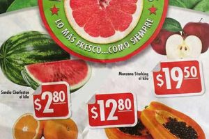 Comercial Mexicana hoy es miércoles de frutas y verduras 7 de diciembre