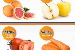 Frutas y verduras Chedraui 6 y 7 de Diciembre 2016