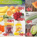 Frutas y Verduras HEB del 13 al 15 de Diciembre 2016