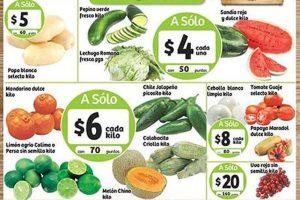 Frutas y Verduras Soriana 13 y 14 de Diciembre 2016