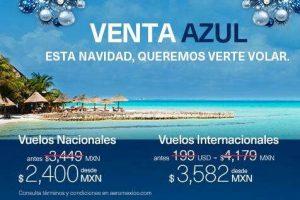 Gran Venta Navideña Aeroméxico del 5 al 8 de diciembre 2016
