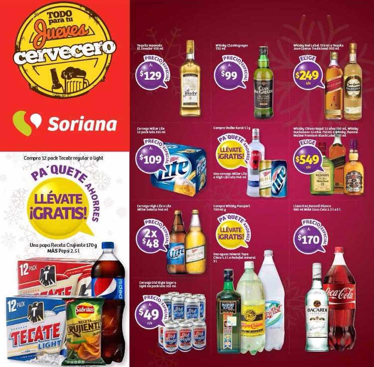 Jueves Cervecero Soriana 15 De Diciembre De 2016