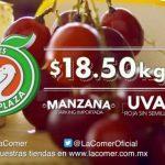 Frutas y Verduras Miércoles de Plaza en La Comer 14 de Diciembre