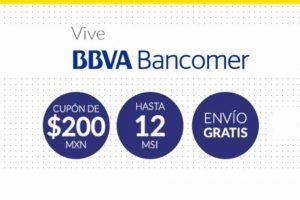 Mercado Libre $200 de descuento y hasta 12 MSI con BBVA Bancomer
