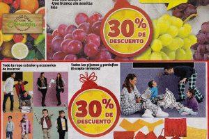 Ofertas de Frutas y Verduras Soriana Diciembre 2016