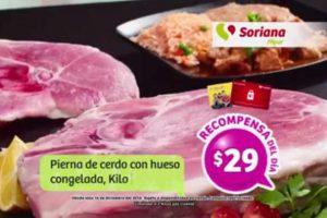 Promociones Soriana Tarjeta Recompensas del 23 al 26 de Diciembre
