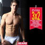 Sears 3×2 en ropa interior, ropa de dormir, calcetas y medias