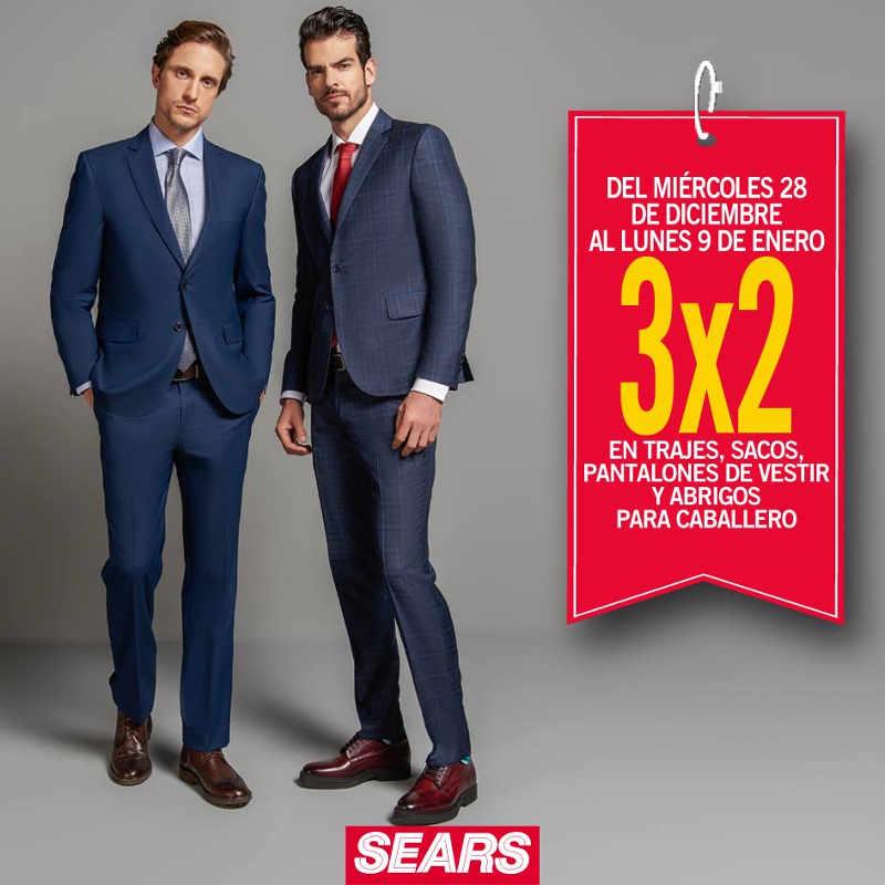 Sears 3 2 En Trajes Sacos Pantalones De Vestir Y Abrigos Para Caballero