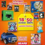Sears hasta 50% de descuento y 18 msi en juguetes y videojuegos
