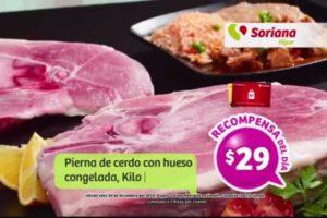 Soriana Ofertas Tarjeta Recompensas al 2 de Enero 2017