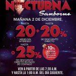 Venta Nocturna Sanborns 2 de Diciembre de 2016