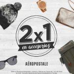 Aéropostale 2×1 en accesorios (bolsas, lentes, relojes, etc.)